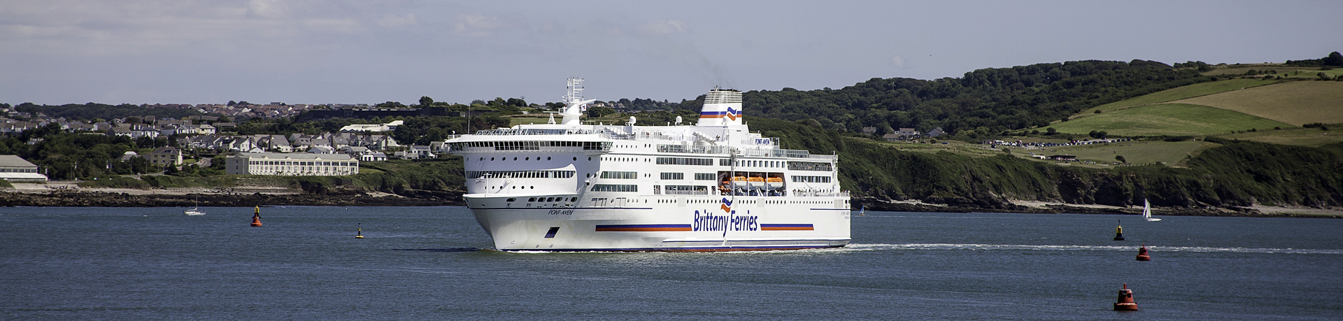 Travel by sea, relax and enjoy your journey with Brittany Ferries