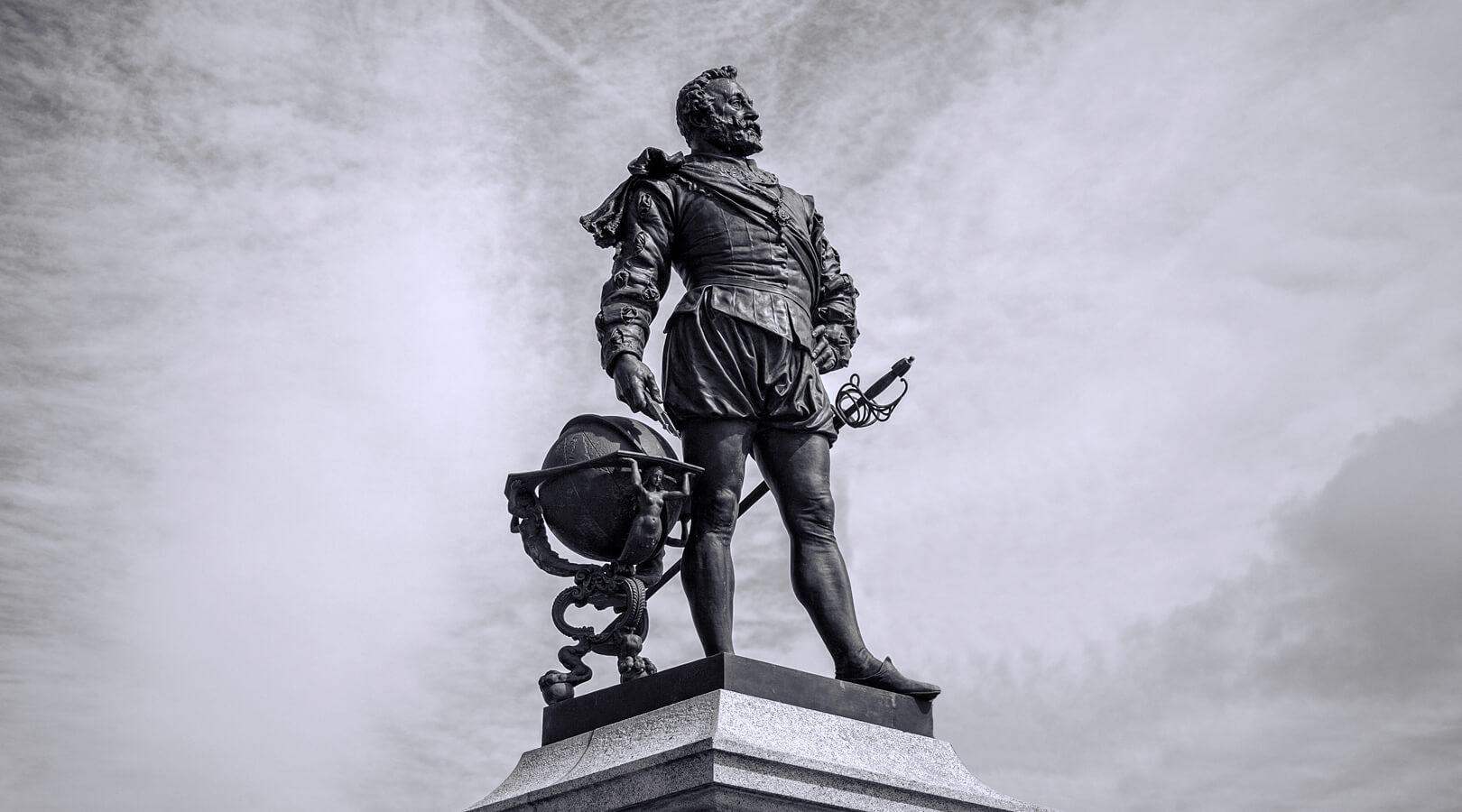 Sir Francis Drake Plymouth Hoe History